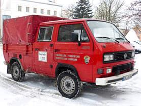 VW T3 synchro Pritsche/Plane ehemaliges Feuerwehrfahrzeug von der Nordsee, jetzt in Niederbayern wohl unterwegs.