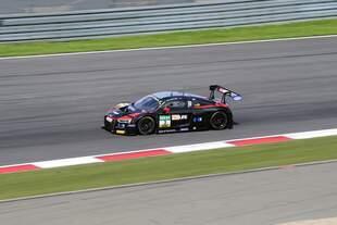 Audi R8 LMS, M.Pommer & K.van der Linde, Team Aust Motorsport(DEU) Samstagsrennen auf dem Nürburgring, ADAC GT Masters am 5.8.2017