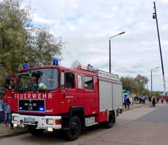 Am 15.09.2019 hatten Kinder die Gelegenheit bei einem Fest in Nordhausen den MAN 12.232 der FFW Urbach zu besteigen und auch eine Runde mitzufahren.