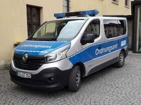 Renault Trafic 120dci  Fahrzeug des Ordnungsamtes der Stadt Fulda.