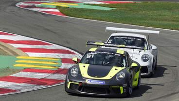 Porsche Carrera Cup Benelux, BARENBRUG Bas im Porsche GT3 Cup 991 , beim DTM in Zolder Supportrace am 18.Mai 2019