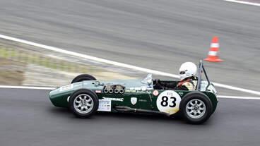 #83, Fyda, Jonothan (GBR) im U2 MK 3 (1963),, Rennen 2: FIA-Lurani Trophy für Formel Junior Fahrzeuge, am Samstag 10.8.19 beim 47.