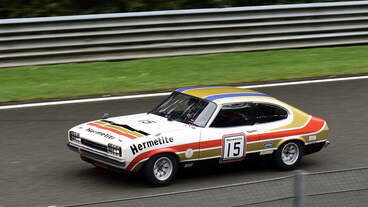 #15, Ford Capri Bj.1977, 2994ccm, Historic Motor Racing  News U2TC & Historic Touring Car Challenge with Tony Dron Trophy zu Gast bei den Spa Six Hours Classic vom 27 - 29 September 2019