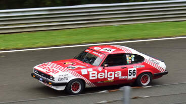#56, FORD CAPRI 3.0, Historic Motor Racing News U2TC & Historic Touring Car Challenge with Tony Dron Trophy zu Gast bei den Spa Six Hours Classic vom 27 - 29 September 2019