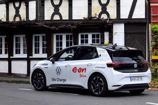 VW id.3 auf Deutschlandtour, in Ahrweiler am 13.11.2020