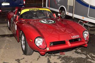 BIZZARRINI 5300 GT, im Fahrerlager, bei den Spa Six Hours Classic vom 27 - 29 September 2019