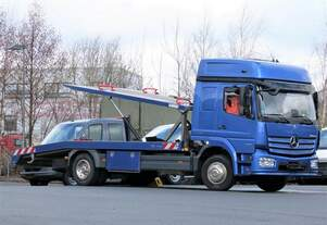 Mercedes Atego 1230 Autotransporter.
