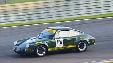 Porsche 911 ST, Nr.108, Fahrer: Goder Georg und Schlüter Martin, Deutschland, beim ADAC 1000Km Rennen am 17.Sep.2021 auf dem Nürburgring