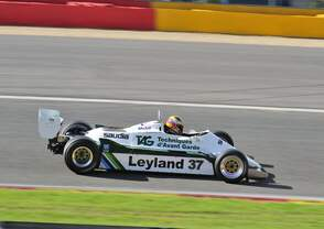 Formel 1, WILLIAMS FW07/C 1981, Motor: Ford Cosworth DFV 3.0 V8,  am 20.Sep.2014 beim Historic Formula One Championship in Spa Francorchamps.Fahrer:D'ANSEMBOURG Christophe (BE)