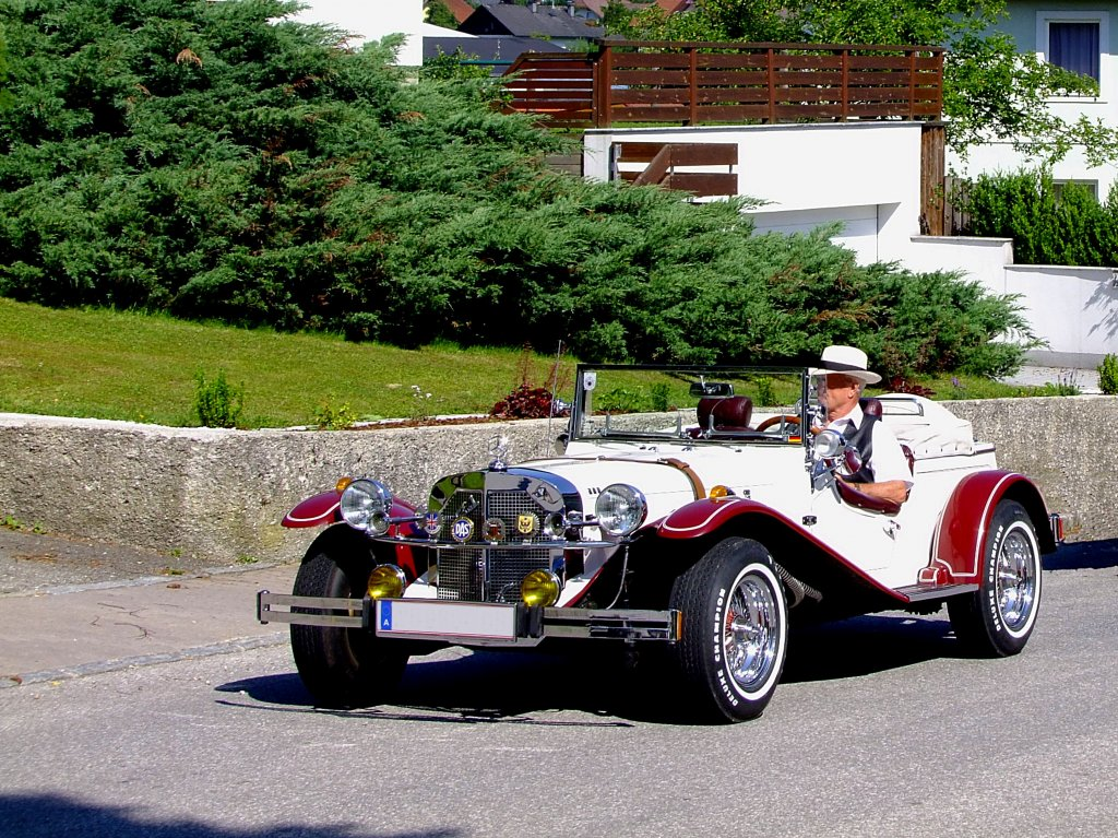 Mercedes 1929 ssk gazelle replica 2000ccm 90ps am weg for Mercedes benz 1929 ssk