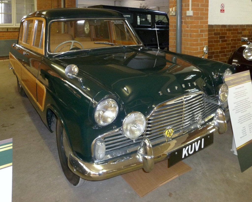 1956 Ford Zephyr Estate.