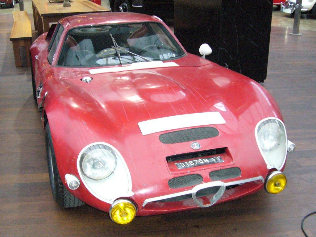 Der Sportwagen TZ2 wurde nur