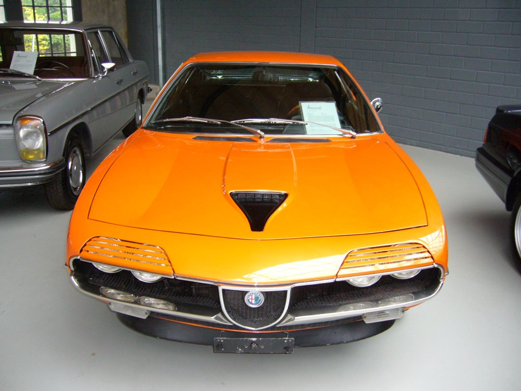 Alfa Romeo Montreal Frontansicht