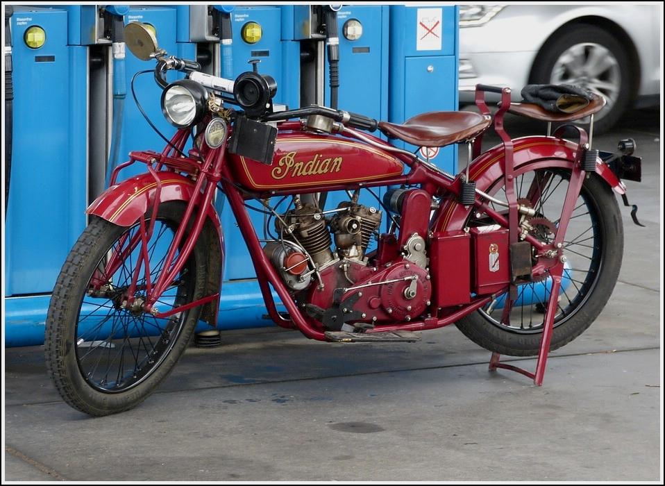 indian scout amerikanisches motorrad aus den 1930er jahren juli 2013. Black Bedroom Furniture Sets. Home Design Ideas