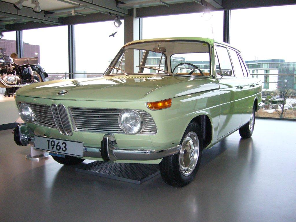 9.1.2010 BMW 1500 Baujahr 1963