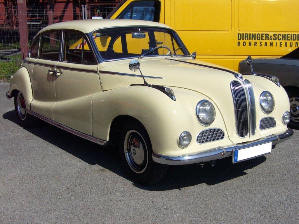 BMW 502. 1954- 1961. Der 502 war der erste deutsche ...