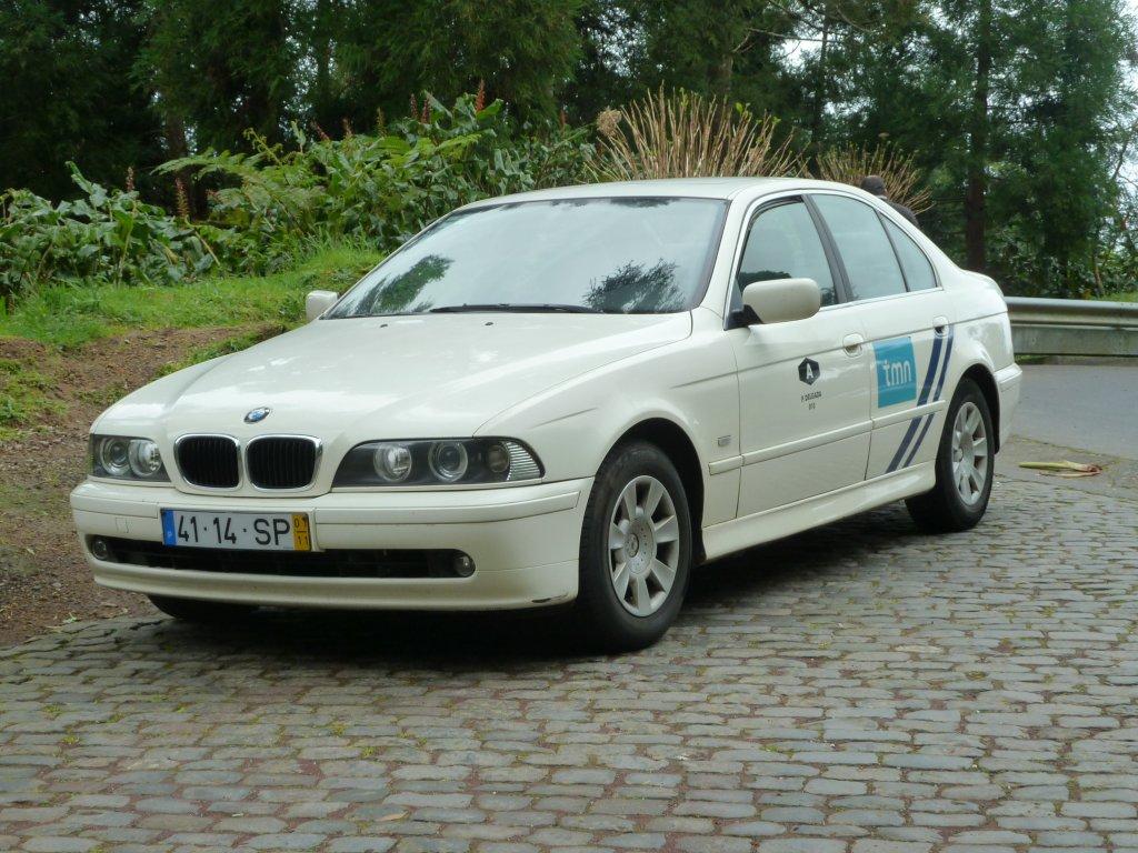 BMW Als Taxi Unterwegs Auf Sao Miguel Azoren Im Februar