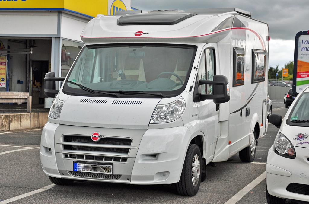 Bürstner Wohnmobil auf Fiat Ducato Fahrgestell