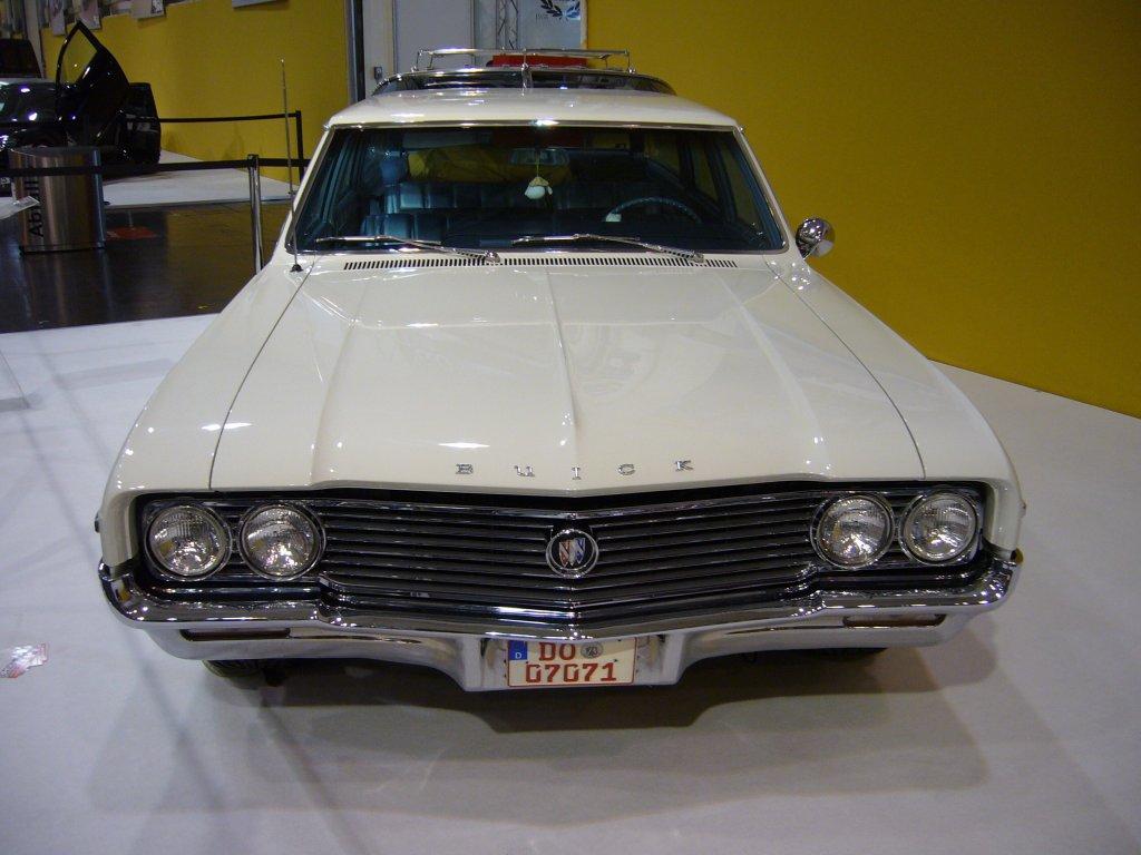 Buick Skylark Sportwagon von 1966. Der Skylark Sportwagon trumpfte mit