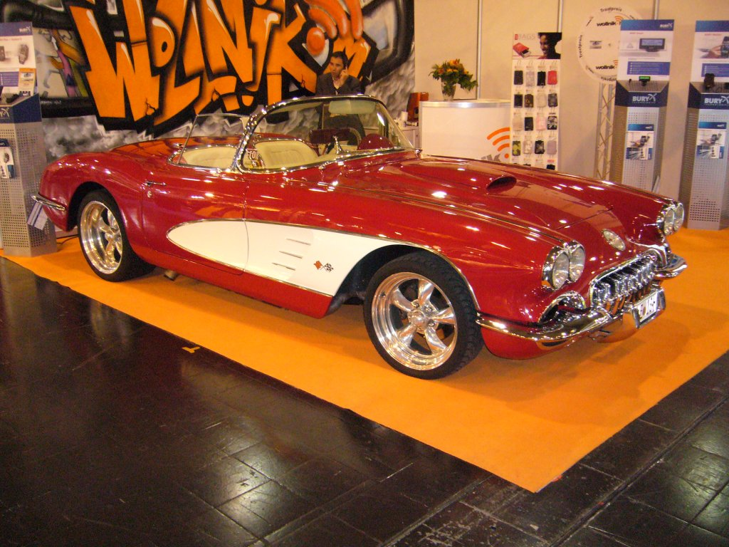 2.12.2010 Chevrolet Corvette 1960. Die 1960´er Corvette .