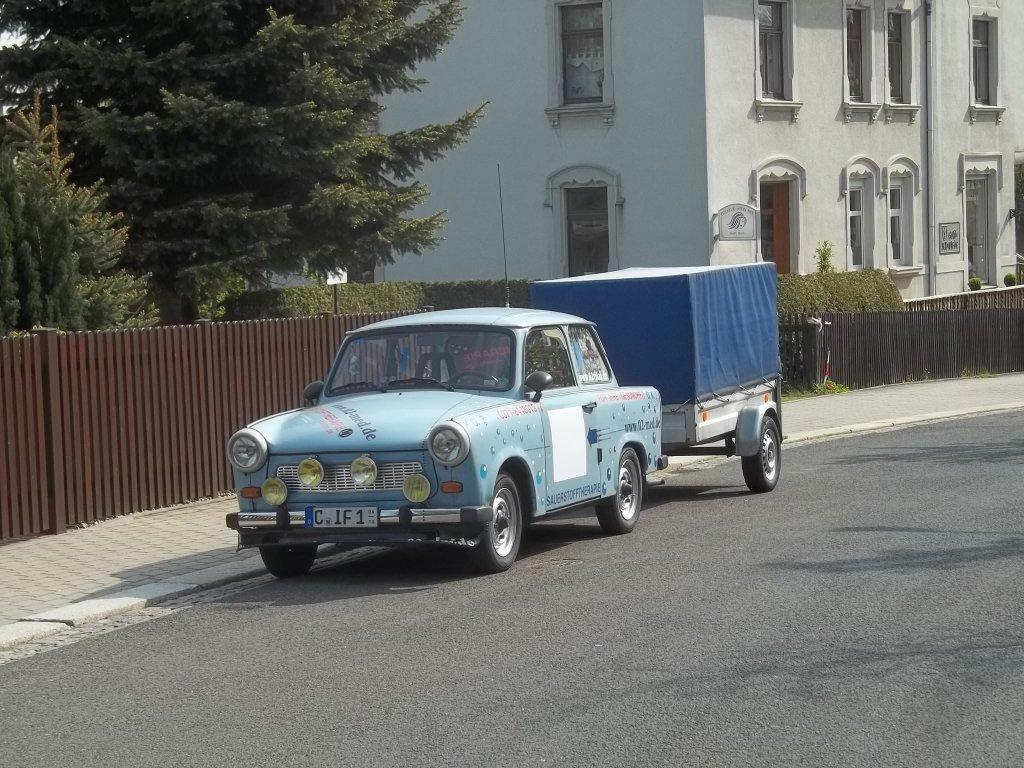 Dieser Trabant 601 stand am