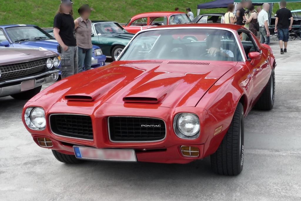 Pontiac Firebird Fotos Fahrzeugbilder De