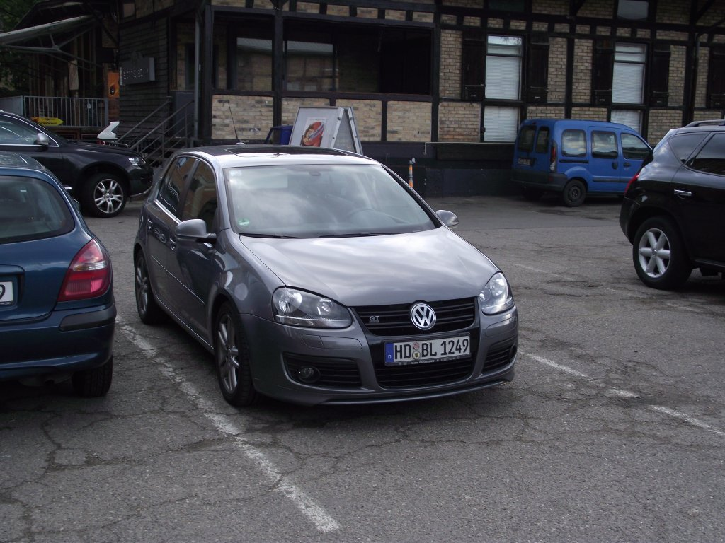 ein vw golf 5 gt in heidelberg am. Black Bedroom Furniture Sets. Home Design Ideas