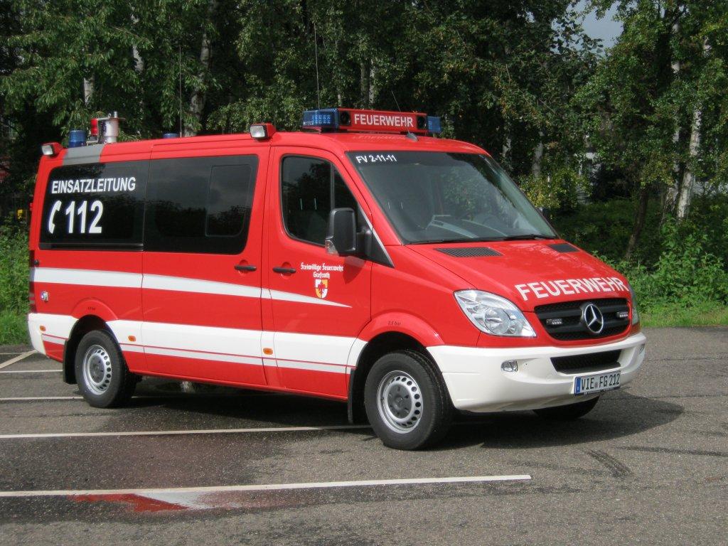 Einsatzleitwagen elw 1 der freiwilligen feuerwehr for Mercedes benz elw