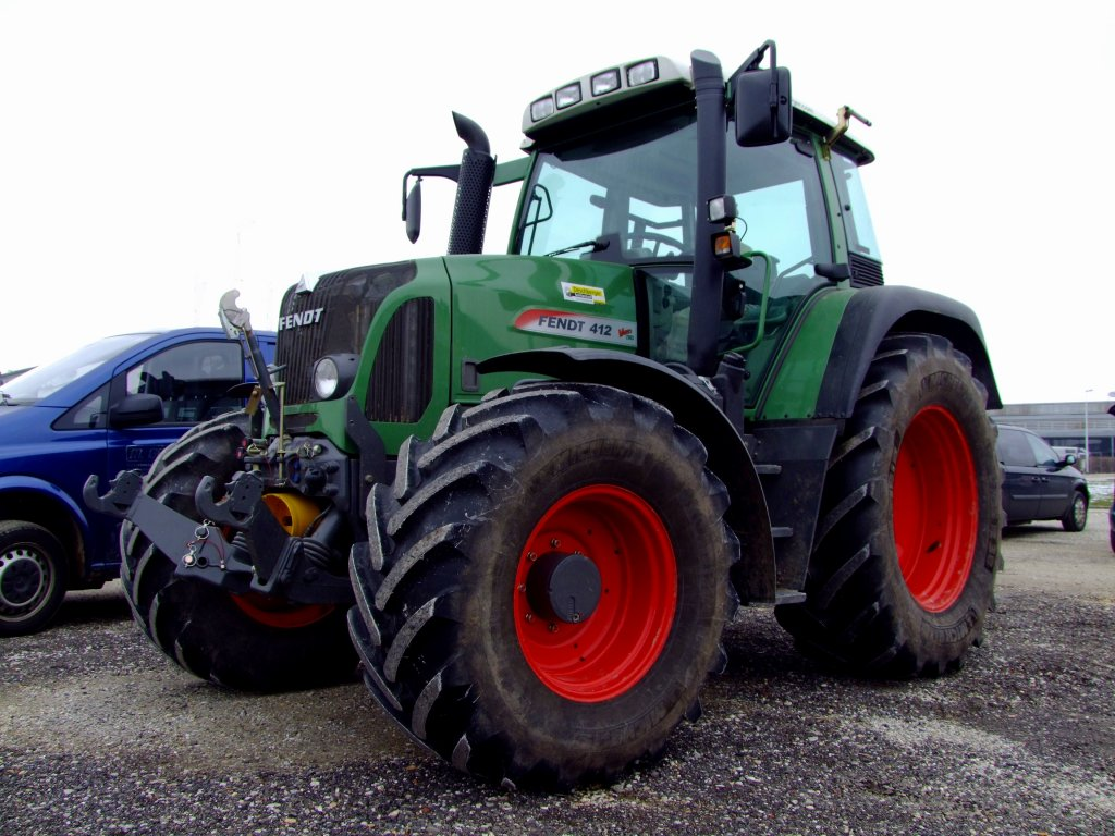 fendt 412 how to drive