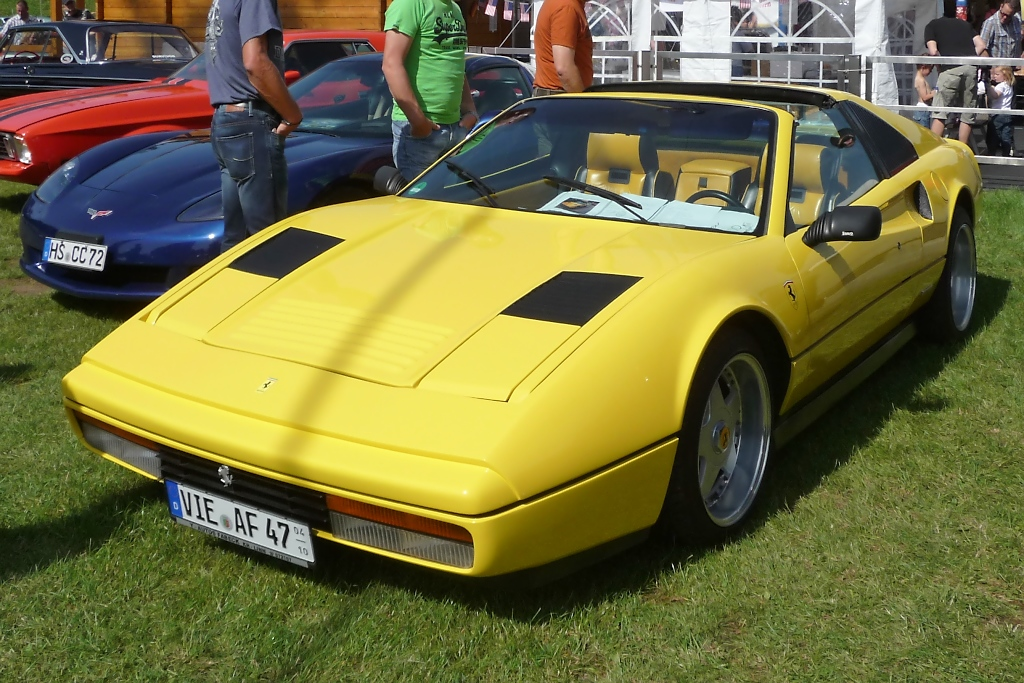 Ferrari 328 GTS, US-Car-Show Grefrath 2011-08-21