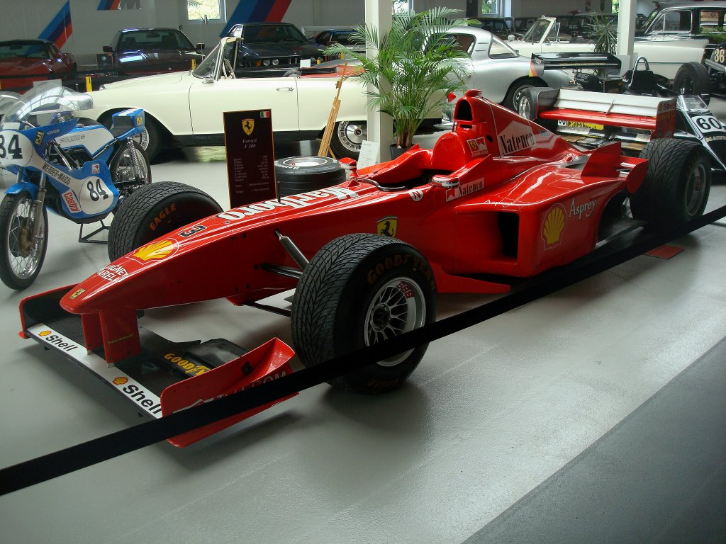 ferrari f300 formel 1 rennwagen baujahr 1998 v10 zyl. Black Bedroom Furniture Sets. Home Design Ideas