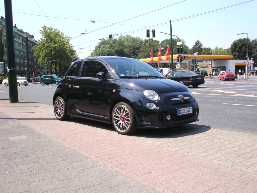 fiat 500 abarth d sseldorf nordrhein westfalen am. Black Bedroom Furniture Sets. Home Design Ideas