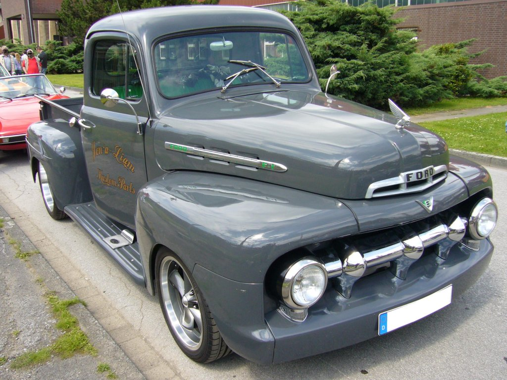 1951 ford f1 pick up car interior design. Black Bedroom Furniture Sets. Home Design Ideas