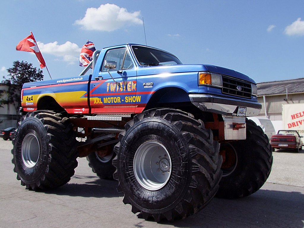 ford f150 monster truck. Black Bedroom Furniture Sets. Home Design Ideas