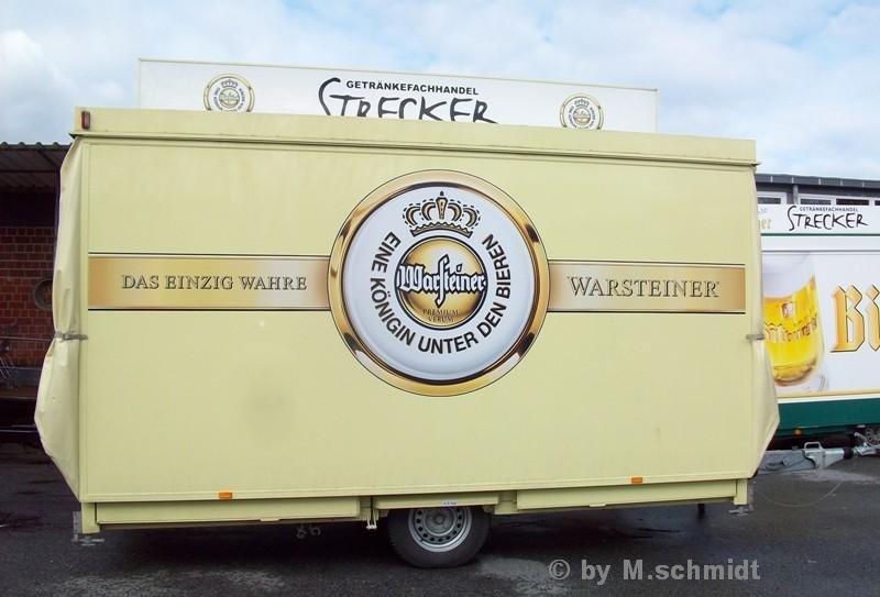 Getränke Verkaufsanhänger Das einzig ware WARSTEINER \