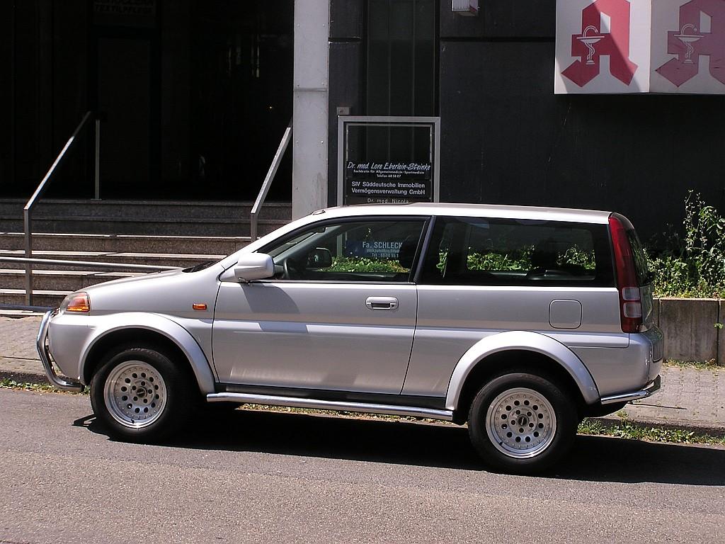 Honda hr v aufgenommen juli 2010 for Honda hrv 2010