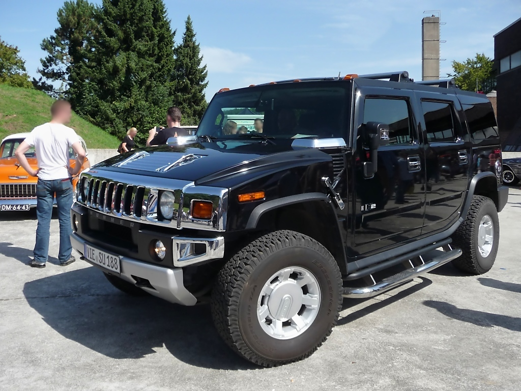 Hummer H2, US-Car-Show Grefrath 2011-08-21