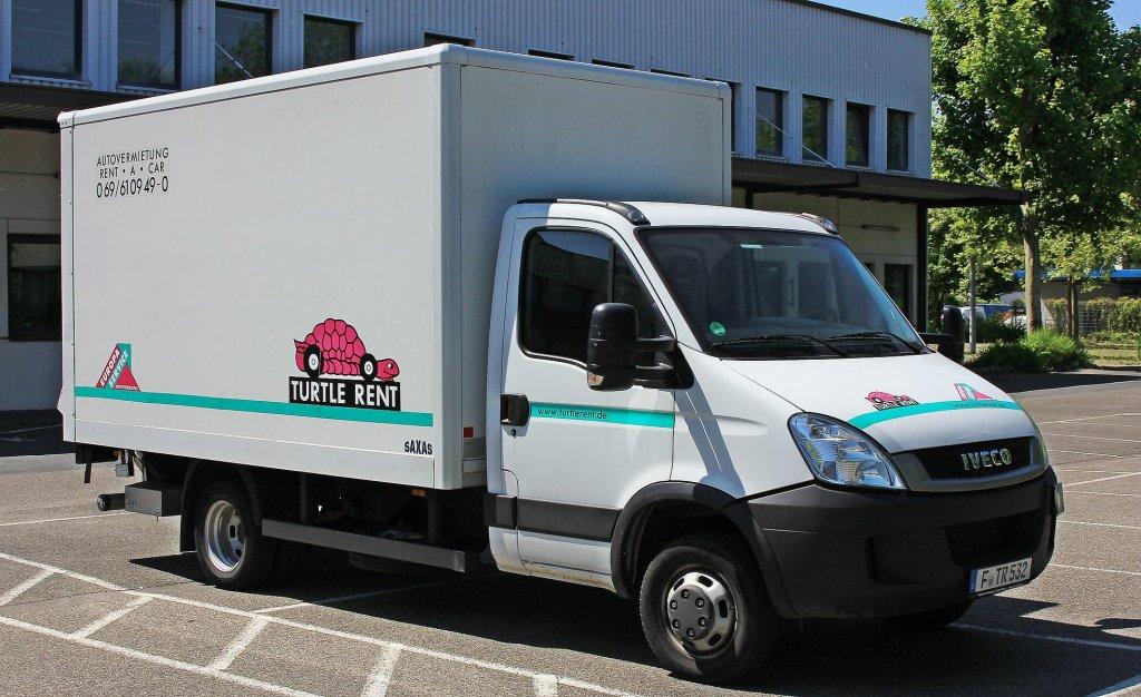 iveco kastenwagen der autovermietung turtle rent am 6 in frankfurt. Black Bedroom Furniture Sets. Home Design Ideas