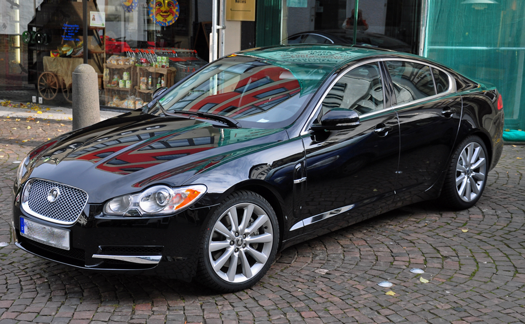 Jaguar XF in Bad-Münstereifel - 30.10.2010