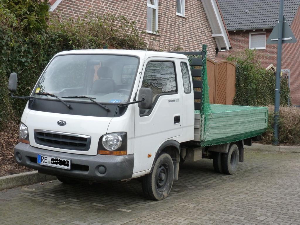 Kia Kleinlaster K2500 Tci Mit Pritsche In Herten 26 02 2012