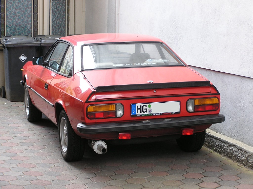 Lancia Beta Coupe.