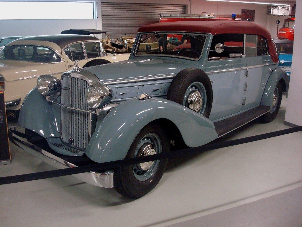 Maybach sw42 cabrio baujahr 1939 6 zyl motor mit 4200ccm und 140ps