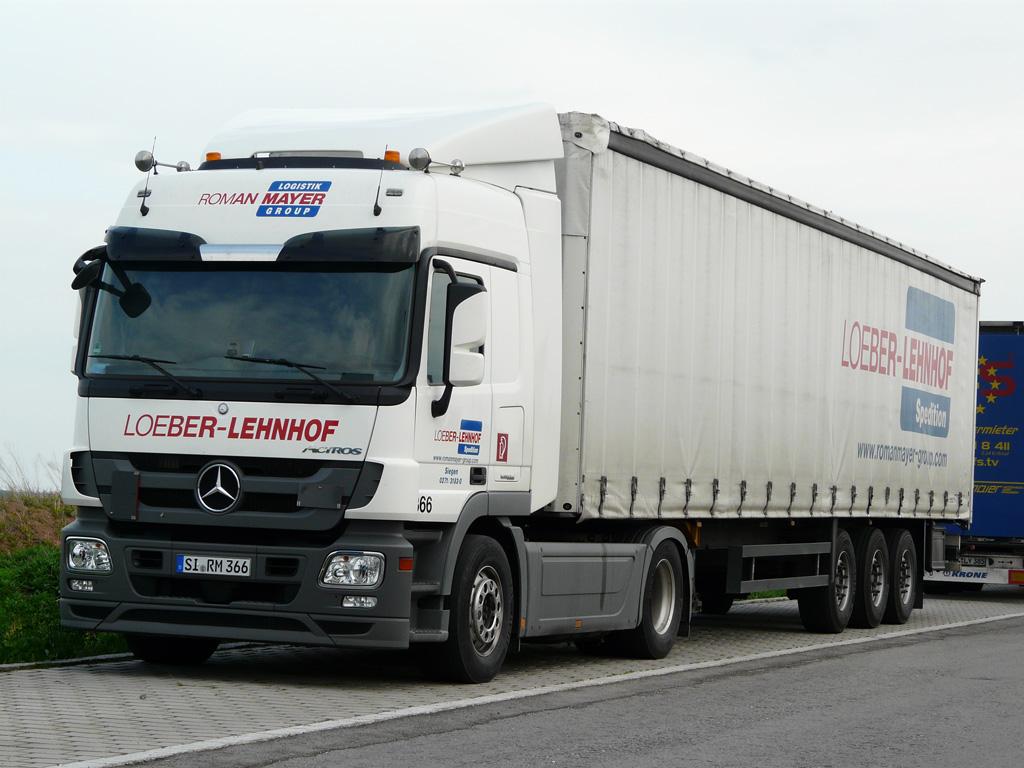Mb actros mp3 von loeber lehnhof abgestellt in w rnitz for Mercedes benz loeber