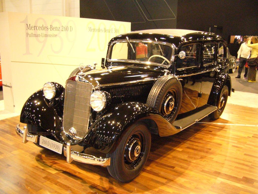 Mercedes benz 260 d baujahr 1939 mit dem 260 d brachte for Mercedes benz 260