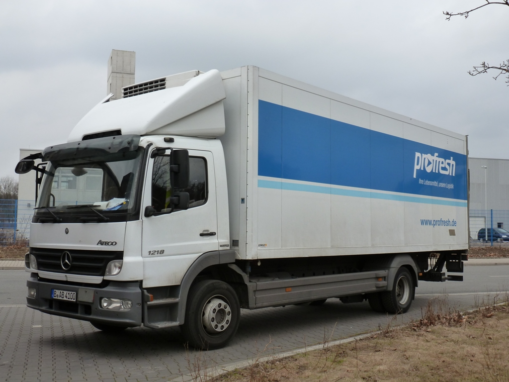 Mercedes benz atego 818 - be17
