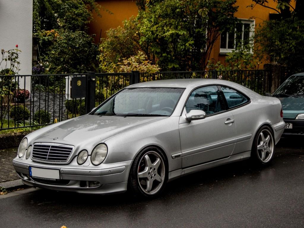 Clk klasse fotos for Mercedes benz name