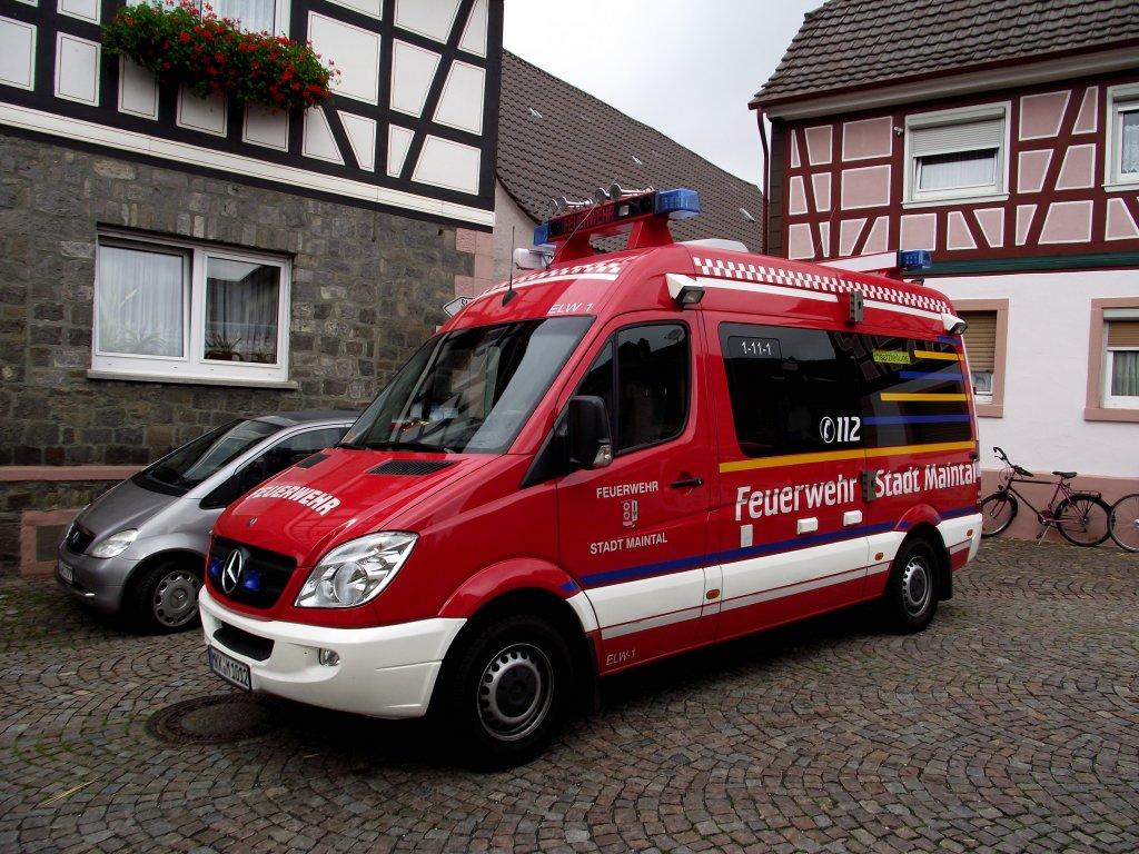 Feuerwehr saarbr cken mercedes elw das foto habe ich im for Mercedes benz elw