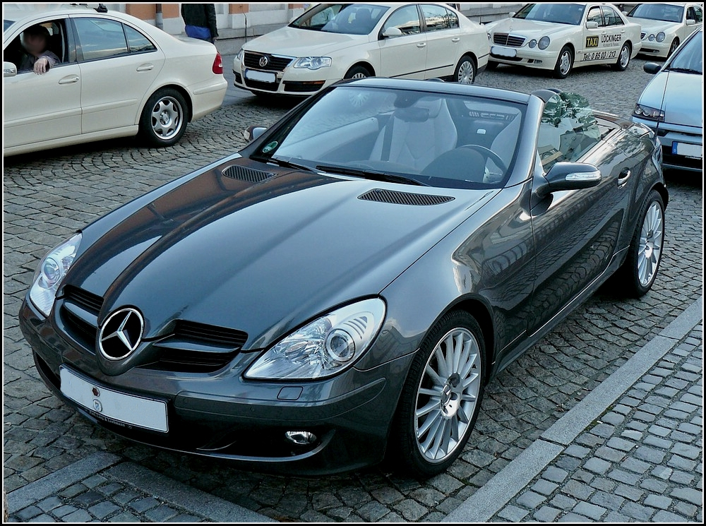 mercedes slk 280 gesehen am. Black Bedroom Furniture Sets. Home Design Ideas