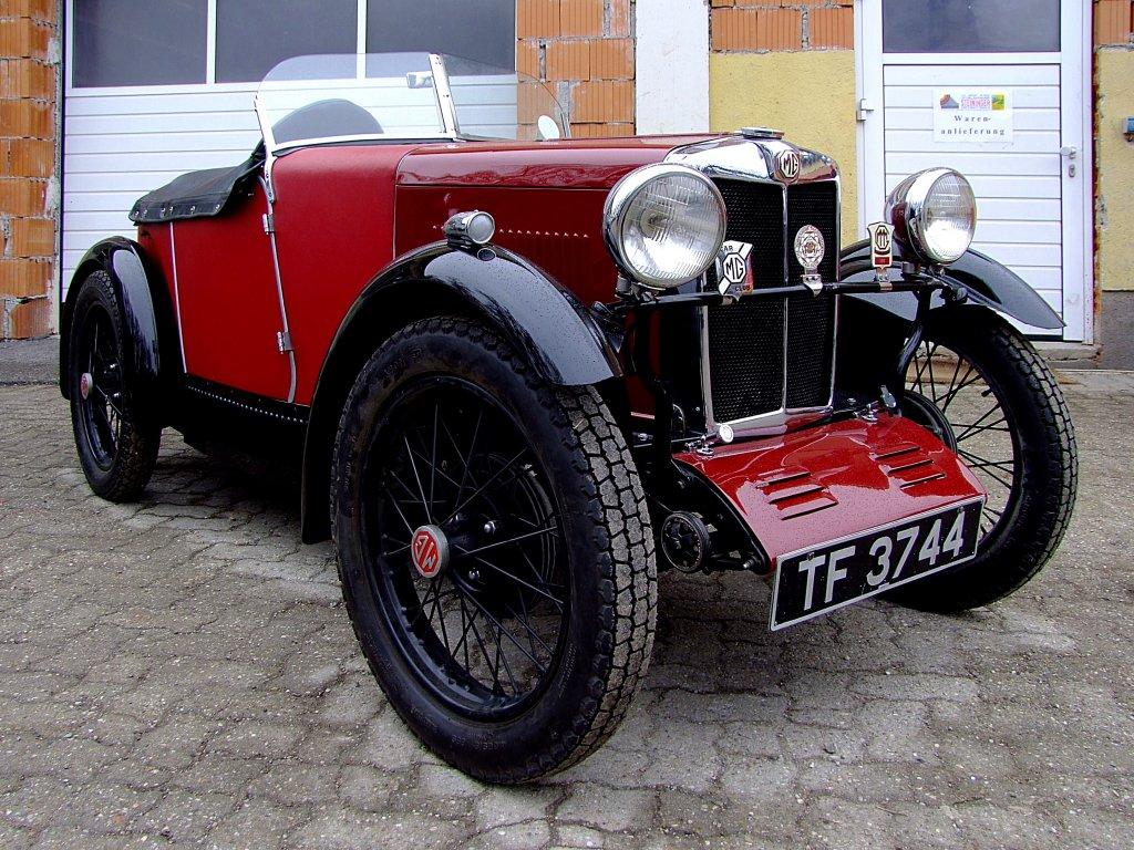 Kleiner Sportwagen