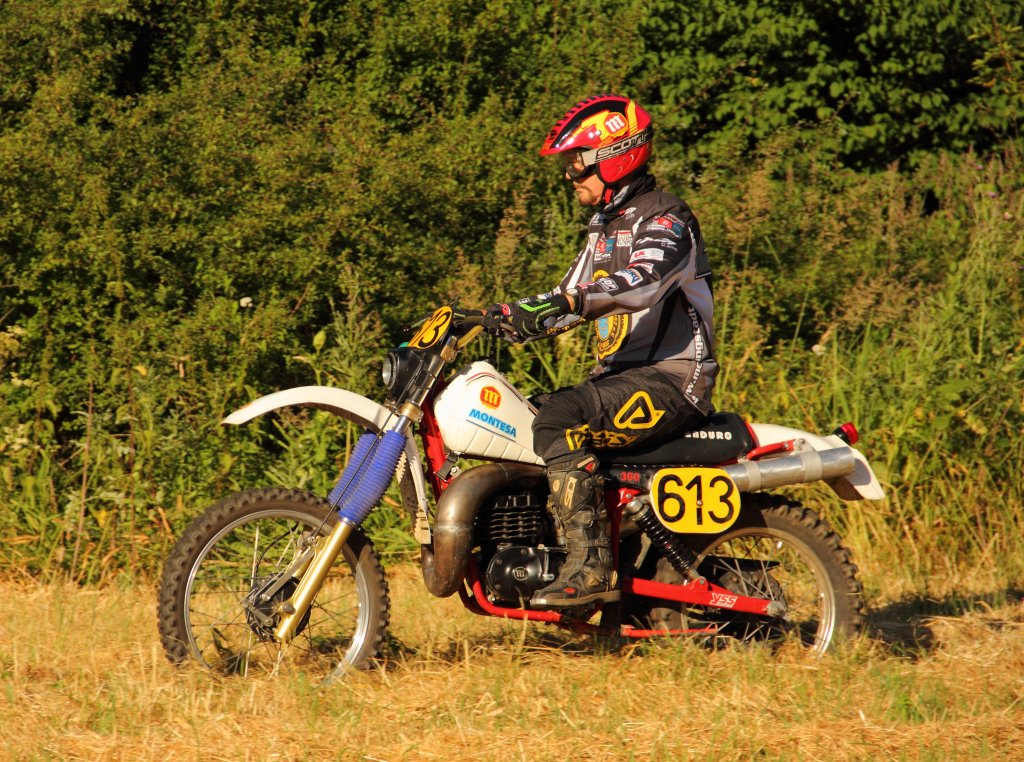 Montesa Enduro H7 in Weidhausen am 21.07.2013. (5. Klassik Enduro Trophy AMC Hohe Aßlitz)
